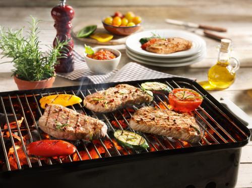 Kalbs Minuten Steaks vom Grill