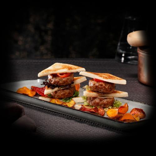 Mini veal burger Classic