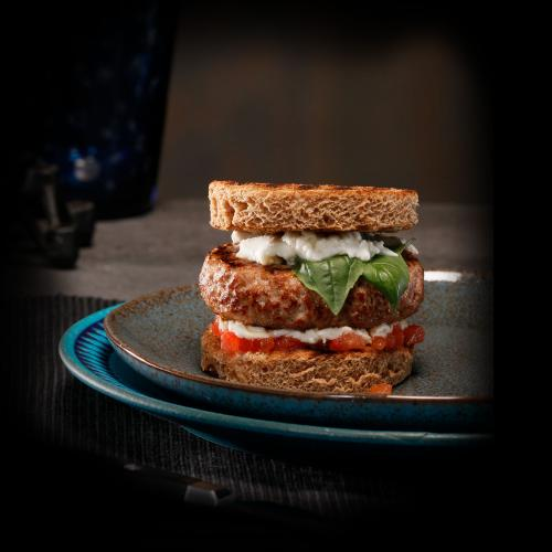 Veal burger Tomato