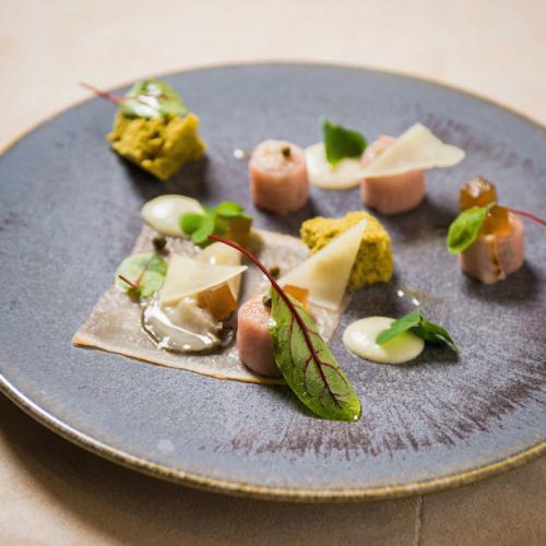 Carpaccio en tartaar met oesters en manchego kaas