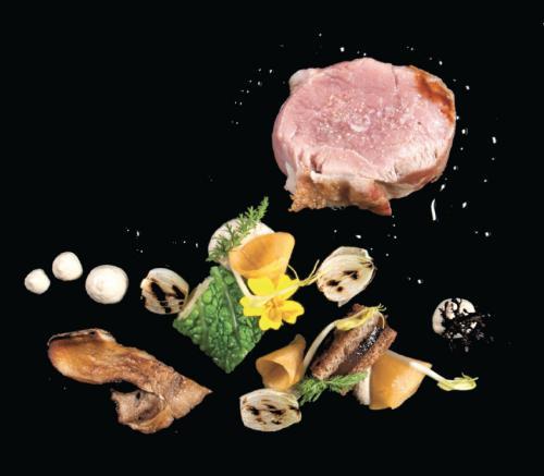 Haas, Schorseneren, Groene kool, Eekhoorntjesbrood